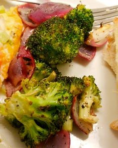 Loris Culinary Creations: Marinated & Grilled Broccoli