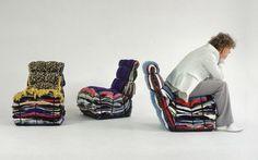 Rag Chair by Tejo Remy © Robaard/Theuwkens