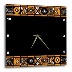 Traditional African Pattern - Art of Africa Inspired by Zulu Beadwork Geometric designs - Ethnic, Wall Clock, 10 by African Theme, African Art, Geometric Designs, Geometric Shapes, Photo Wall Decor, Home Remodeling Diy, Art Themes, Zulu, Pattern Art
