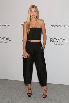 At the REVEAL Calvin Klein Fragrance Launch Party at 4 World Trade Center in New York - ELLE.com