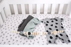 Beautiful mint CamCam Copenhagen swaddle. Check them out in our shop🍃