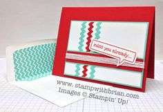 Just Sayin', Stampin' Up!, Brian King, FMS129