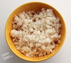 Ryż albo kuskus (z pszenicy) są często spotykane nawet w Polskiej kuchni. Niestety składają się głównie z węglowodanów, a kuskus dodatkowo zawiera gluten. Całe szczęście możemy przygotować dużo…