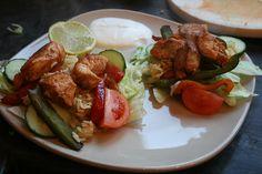 Express Chicken Fajita Salad - She Cooks, She Eats