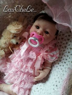 From The Kinsey  Kit Reborn Baby Doll Wendy 20 inch kit Completed Doll with Magnetic Pacifier on Etsy, $169.00