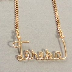Mom necklace Name NecklaceMothers day by GLITTERBOXJEWELRY on Etsy