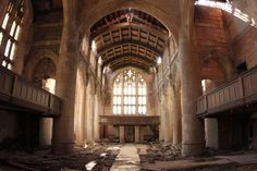 after the zombie apocalypse (city methodist church of post-industrial gary, indiana)