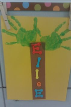 Everyone had such a great time making Chicka Chicka Boom Boom Trees with their handprints and fun letter cutouts for their names! This activ...