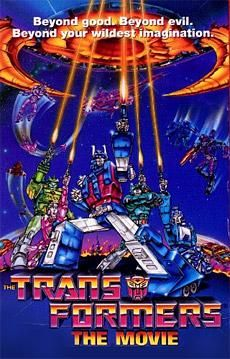 Transformers the Movie was released in theaters today (Aug 8th) in 1986