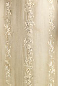 Dress, Evening  Date: 1810–12 Culture: American or European Medium: cotton