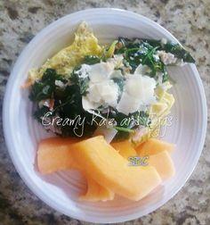 Creamy Kale and Eggs Recipe
