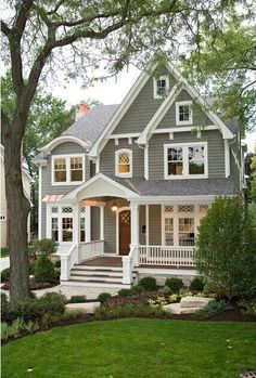 Move this cute house to Texas or Tennessee and on a small lake and it would be a dream come true!