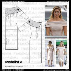 ModelistA: POST No 0460 PRIMEIRA DAMA DRESS