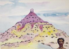walter battiss paintings - Google Search Walter Battiss, South African Art, Disney Characters, Fictional Characters, Watercolor, Disney Princess, Paintings, Artists, Google Search