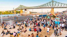Nouvelles - Un camping éphémère sous le pont Jacques-Cartier - MétéoMédia