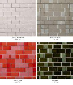 Heath Opaque White Blend Dual Glaze Tile For Kitchen Backsplash