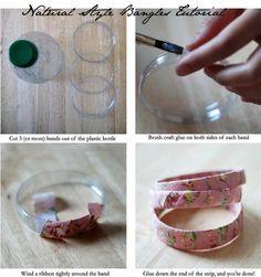 reciclado de botellas de plastico - avalorios 1