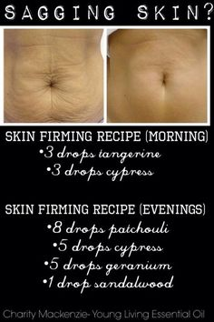 Recipe for Skin Firming for Sagging Skin