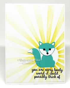 Stampin' Up! Fox Builder Punch Project by UnderstandBlue