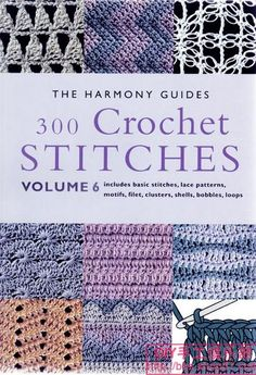 book of crochet stitches @Af's 24/1/13