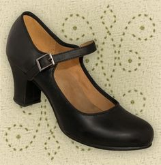 Aris Allen Black 1940s Mary Jane Character Shoe $49.95 They have suede soles which I am not so certain about. They are made for dancers, but I just like the idea. Anyone tried suede soles before. Not outside wear?