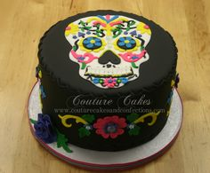 Day of The Dead Birthday Cake
