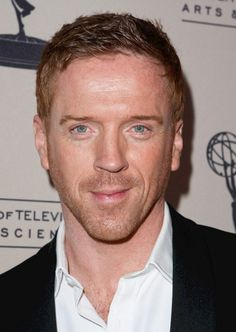 A famous ginger, star of 'Homeland,' Damian Lewis.
