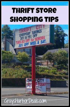 Thrift Store Shopping Trips - best ways to save and things to always look for at the thrift store! #frugalliving #thriftstores