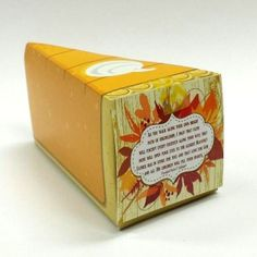 """Home or visiting teaching message and pie-shaped treat box filled with caramels Large orders available; contact us at The quote comes from Elder Uchtdorf's talk, """"A Summer with Great-Aunt Rose,"""" in the Ensign. Visiting Teaching Message, Visiting Teaching Handouts, Home Teaching, Popcorn Tree, Party Stores, November 2015, Relief Society, Lds, Cute Gifts"""