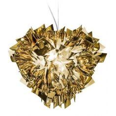 VELI Copper - unikalna lampa wisząca SLAMP