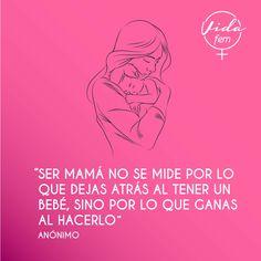 Frases para no olvidar #asieslavidafem #temadelasemana #estilodevida  #saludfemenina #embarazo #gestacion #antojos #amor #sonrisas #barriguitas #nuevavida #frase del día