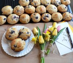 Blueberry Lemon Muffins - the perfect thank you!