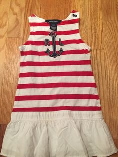 NWT Gymboree RED WHITE /& CUTE Size 12 18 24 M Gignham Dress Fourth of July 4th