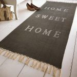 Teppich Home sweet home, Baumwolle Katalogbild