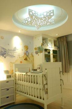 Habitación bebé decoración Principio