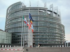European Parliament in Strasbourg, France. Spent an awesome day there.