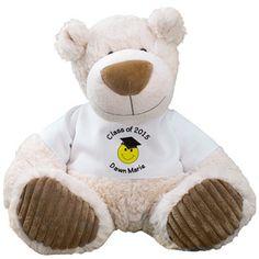 READY TO SHIP Graduation Bear Crochet Plush College or High School Graduation gift