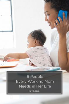6 People Every Working Mom Needs in Her Life www.levo.com #MothersDay
