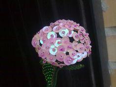 MANUALIDADES CON ABALORIOS..arboles ,flores y mas.... - FLORES DE MOSTACILLAS
