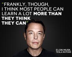 Be Inspired - Elon Musk Tesla Motors on Leadership