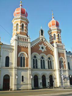 Pilsen - Große Synagoge - DIY ... alles vonKarin