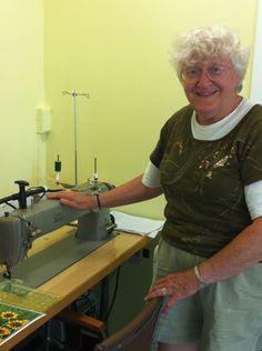 Kathie Simon Frank: Fiber Artist (Friends School of Minnesota grandparent)
