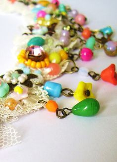 Jewelry DIY from Silly Old Suitcase