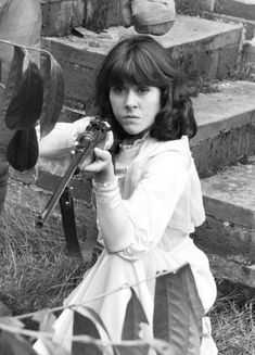 Doctor Who - Sarah Jane 4th Doctor, Second Doctor, Die Füchsin, Original Doctor Who, Sarah Jane Smith, Doctor Who Companions, Don't Blink, Steven Spielberg, Dalek