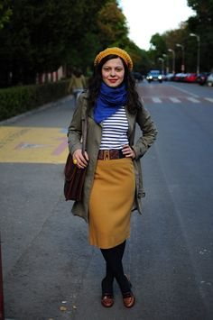 I've got a crush on this look from the ModCloth Style Gallery! - Outfits for Work - I've got a crush on this look from the ModCloth Style Gallery! Work Fashion, Modest Fashion, Skirt Fashion, Fashion Outfits, Apostolic Fashion, Fashion Styles, Modest Outfits, Fall Outfits, Casual Outfits