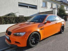 again the Orange BMW M3 GTS