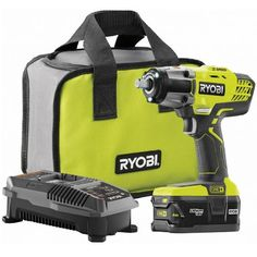 Ryobi P1833 18-Volt ONE+ Lithium-Ion Cordless 3-Speed 1/2 in. Impact Wrench Kit $139 (55% off) @ Home Depot Knife Block Set, Cordless Tools, Tools Hardware, Online Shopping Deals, Home Tools, Impact Wrench, Going Home, Home Depot, Kit