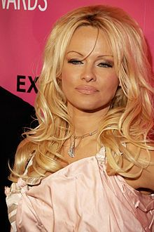Pam Anderson - famous vegetarians