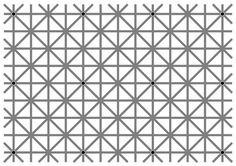There are 12 dots on this image. But your brain won't let you see them all at…