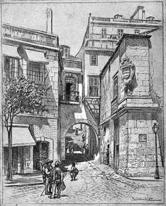 Roque Gameiro (Lisboa Velha, n.º 15) Arco de Jesus ao Campo das Cebolas 1 - Porta do Mar a São João – Wikipédia, a enciclopédia livre